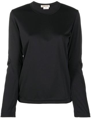 Comme des Garcons elbow patch detail longsleeved T-shirt
