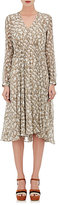 Derek Lam Women's Bei Python-Print Silk Midi-Dress