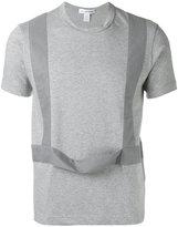 Comme des Garcons panelled T-shirt - men - Cotton - M