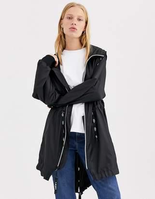 UGG Brittany hooded anorak-Black
