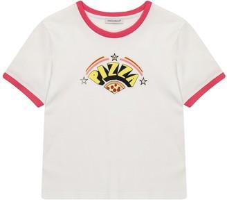 Dolce & Gabbana Kids Pizza cotton T-shirt