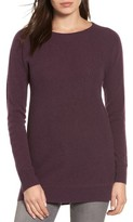 Halogen Women's High/low Wool & Cashmere Tunic Sweater