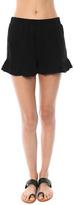 Maven West Ruffled Shorts
