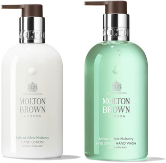 Molton Brown Refined White Mulberry Fine Liquid Hand Wash and Lotion Bundle