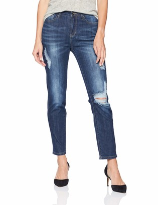 Grace in LA Women's Contemporary Girlfriend Jeans