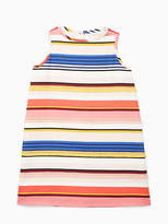 Kate Spade Girls berber stripe shift dress