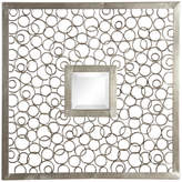Uttermost Colusa Square Mirrors, Set of 2, Silver