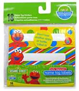 Hamco Neat Solutions® 18-Count Sesame Street Name Tag Stickers