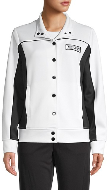 Thumbnail for your product : Karl Lagerfeld Paris Colorblock Funnelneck Jacket