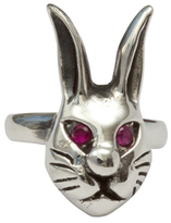 Femme Metale Jewelry Bad Bunny Ring