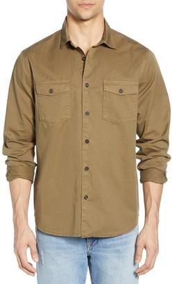 Frame Solid Slim Fit Shirt
