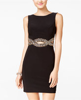 B. Darlin Juniors' Open-Back Rhinestone Bodycon Dress