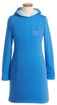 Vineyard Vines Girl's Whale Hooded T-Shirt Dress
