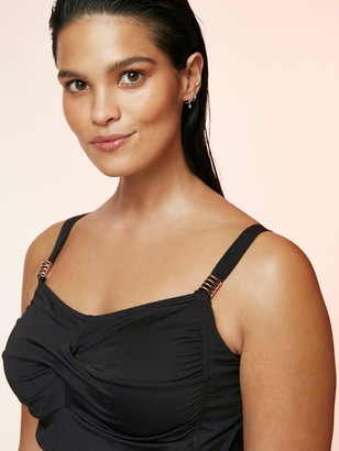 Evans Essential Tankini Top - Black