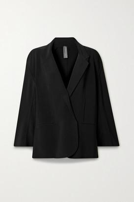 Norma Kamali Oversized Stretch-jersey Blazer - Black