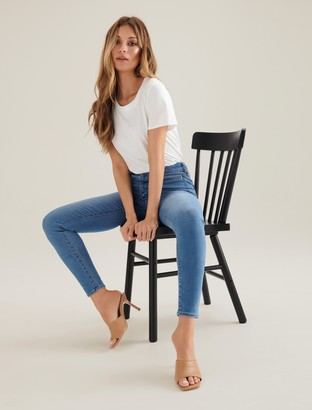 Forever New Bella High-Rise Sculpting Jeans - BAHAMAS BLUE - 4