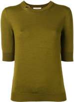 Nina Ricci plain jumper - women - Silk/Wool - M