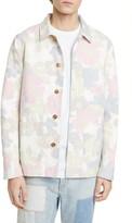 Closed Floral Worker Jacket