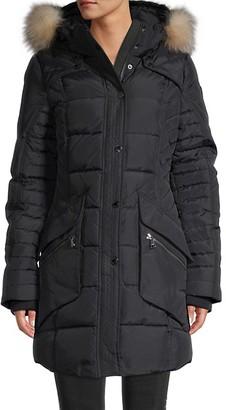 Pajar Maquinna Fox Fur-Trim Duck Down Jacket