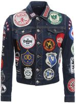 DSQUARED2 Denim Jacket With Patches