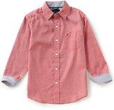Nautica Big Boys 8-20 Button-Front Long-Sleeve Woven Shirt