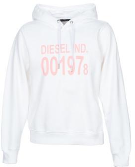 Diesel F-ANG-HOOD women's Sweatshirt in White