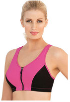 Glamorise Women's High Impact MagicLift Zipper Sports Bra
