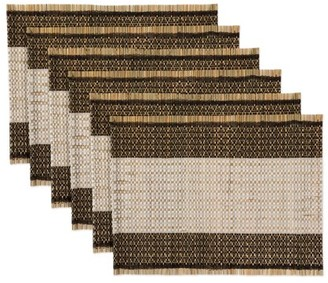 Oasis Dii DII Urban Reed Dinner Placemat (Set of 6), 14x19""