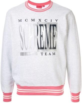Supreme Team Crew Neck Sweatshirt
