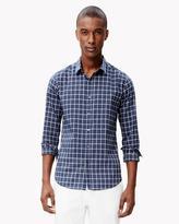 Theory Cotton Blend Check Shirt
