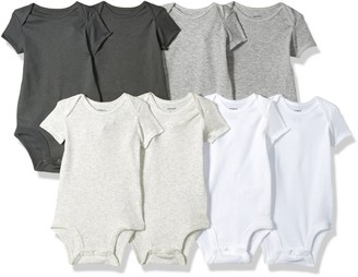 Carter's Baby Infant 8 Pack Short-Sleeve Bodysuits