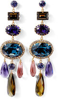 Ralph Lauren Swarovski Cabochon Earrings