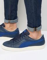 Puma Basket Gtx Sneakers In Blue 36189902