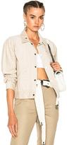 Engineered Garments Corduroy Jacket in Neutrals.
