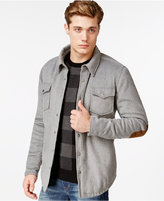 American Rag Men's Elbow-Patch Shirt Jacket, Only at Macy's