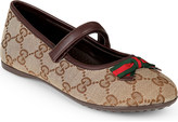 Gucci Marylin logo-print ballet shoes 4-8 years