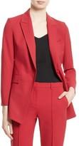 Theory Women's Etienette B One-Button Jacket
