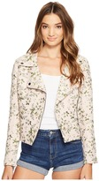 Blank NYC Floral Detailed Jacket in Stem To Stem Women's Coat