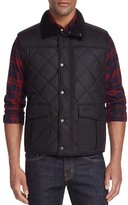 Barbour Boxley Quilted Waxed Cotton Gilet Vest
