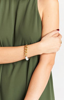MUMU Gemelli Roxy Bracelet ~ White