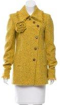 Chanel Wool Fringe-Trimmed Jacket