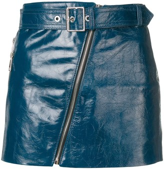 Manokhi Biker Skirt
