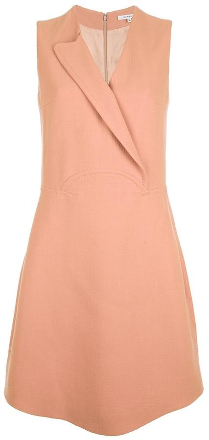 Carven side pockets short dress
