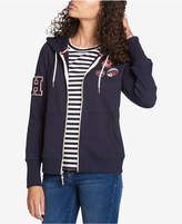 Tommy Hilfiger Zip-Up Patch Hoodie, Created for Macy's