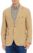 Daniel Cremieux Sonoran Trails Solid Linen-Blend Blazer