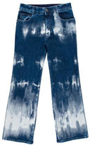 Stella McCartney Tie-Dye Cropped Jeans w/ Tags