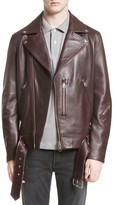 Acne Studios Men's Nate Leather Jacket