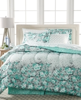 Sunham Gilmore 8-Pc. Reversible California King Bedding Ensemble