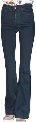 Stella McCartney High-Rise Flared Denim Jeans