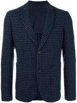 Paolo Pecora tonal pattern blazer